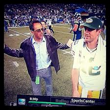 "Among many great memories Tate created was the ""fail mary"" which elicted Mike Silver's infamous ""WTF?"" comment to Aaron Rodgers."