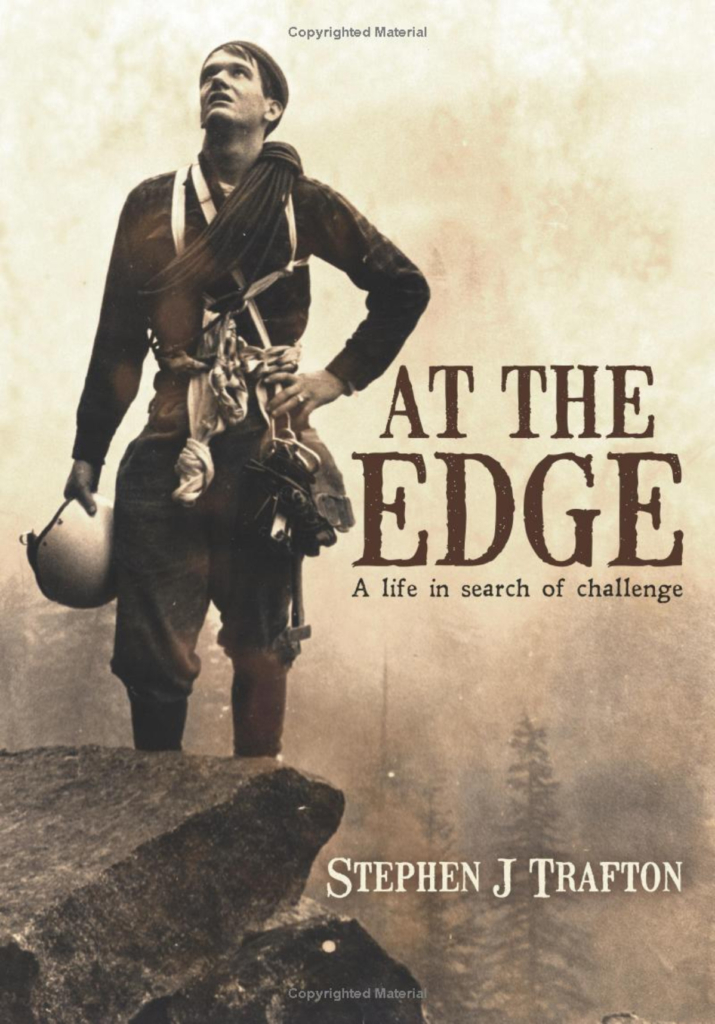 """At The Edge"" Book Cover"
