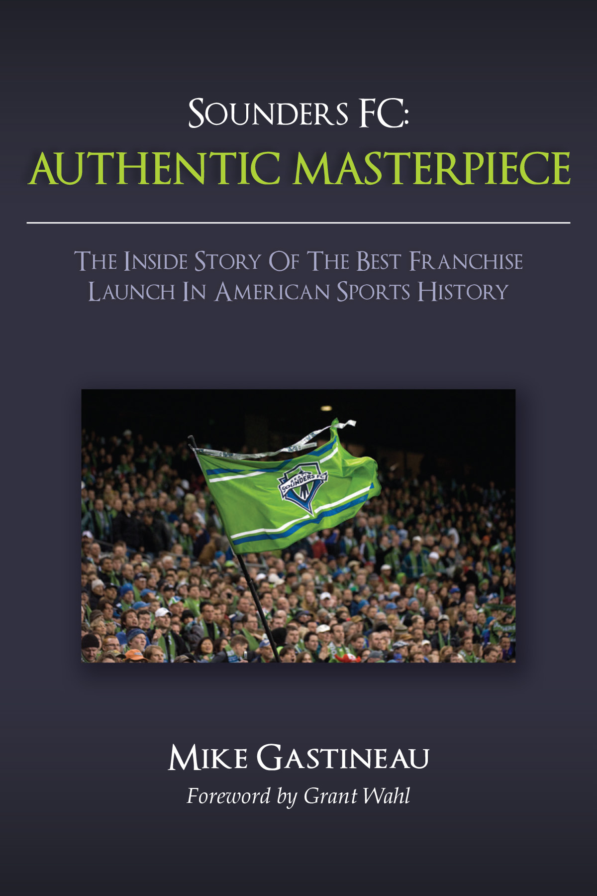 """Authentic Masterpiece"" Book Cover"