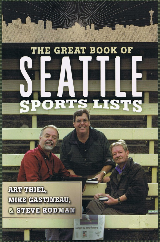 """The Great Book of Seattle Sports Lists"" Book Cover"