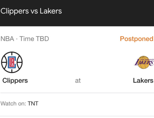 LAKERS VS THE CLIPPERS FOR THE NBA CUP TITLE