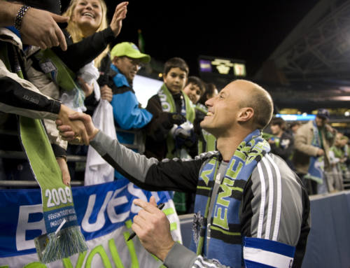 NEW HALL OF FAMER KASEY KELLER ALMOST DIDN'T BECOME A SOUNDER