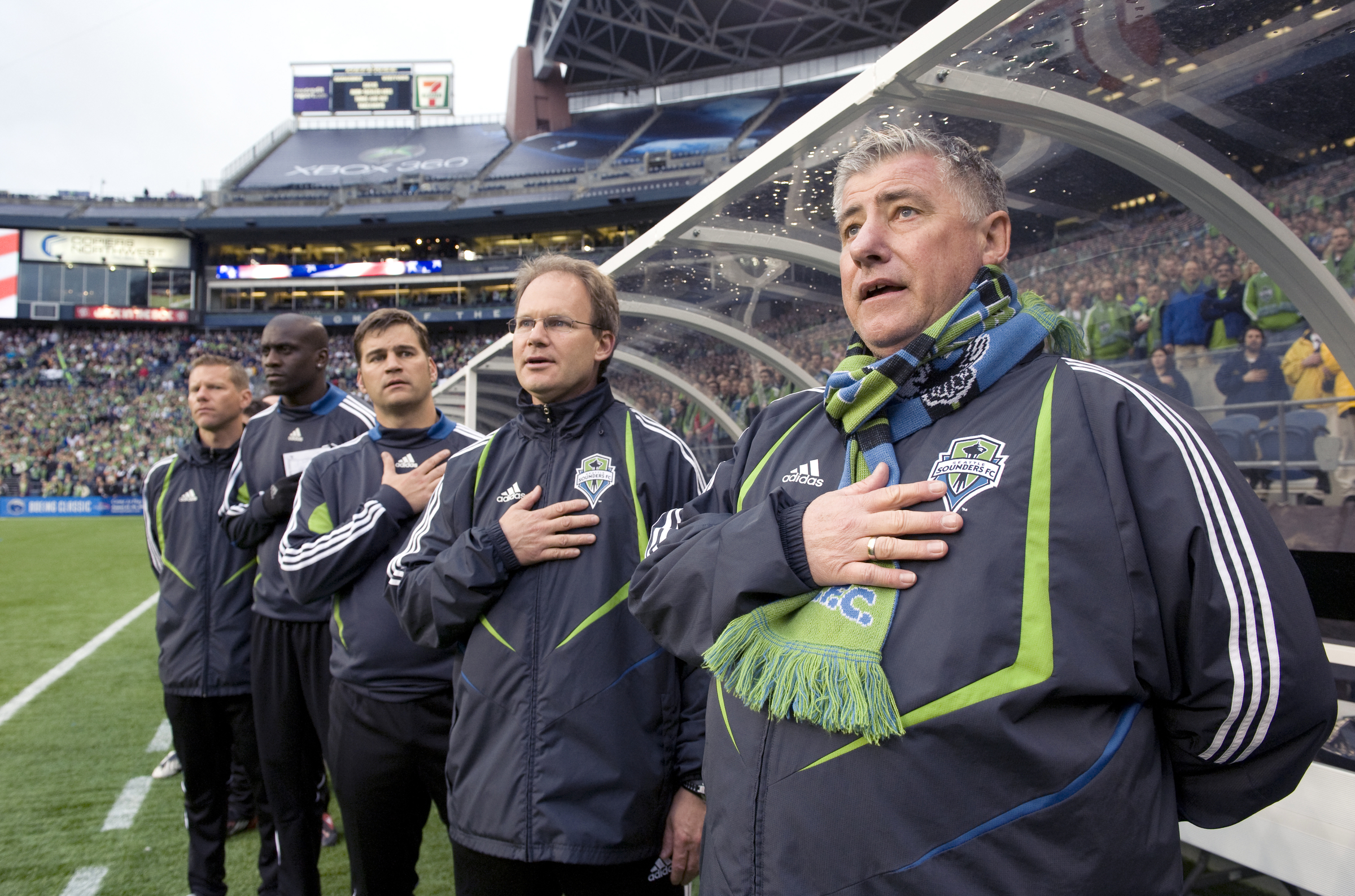 Sigi and staff